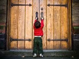 Закрытые двери